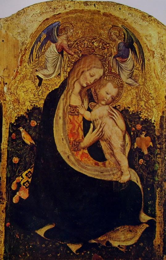 Pisanello: La Madonna della quaglia