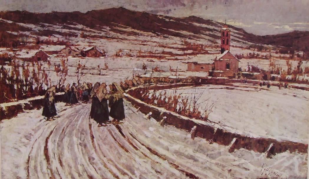 Gli artisti della pittura lombarda dell 39 ottocento for Abbellimento del lotto d angolo