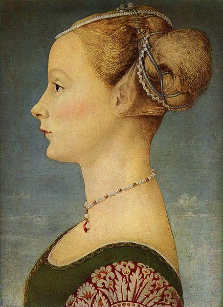 Antonio del Pollaiolo: Profilo femminile