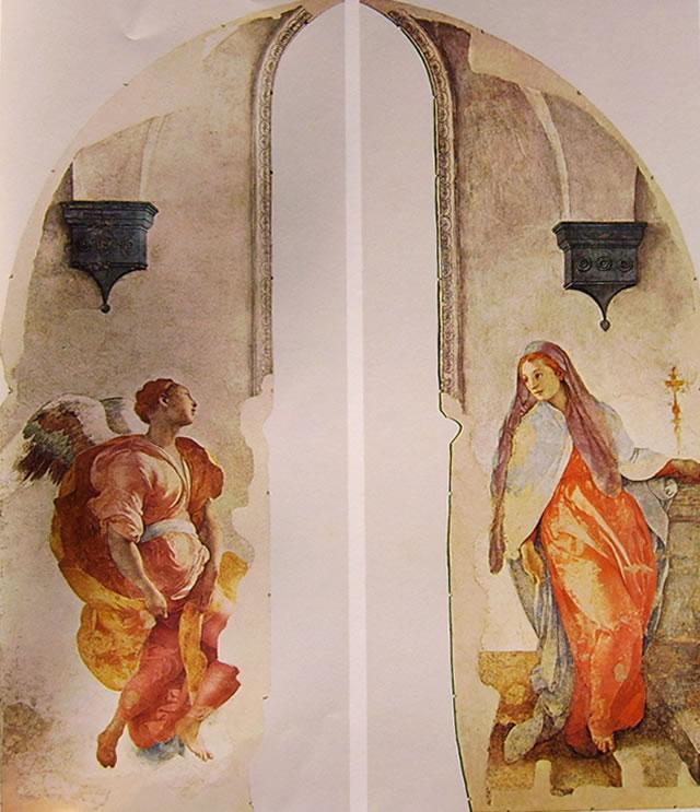 Pontormo - Decorazione Cappella Capponi