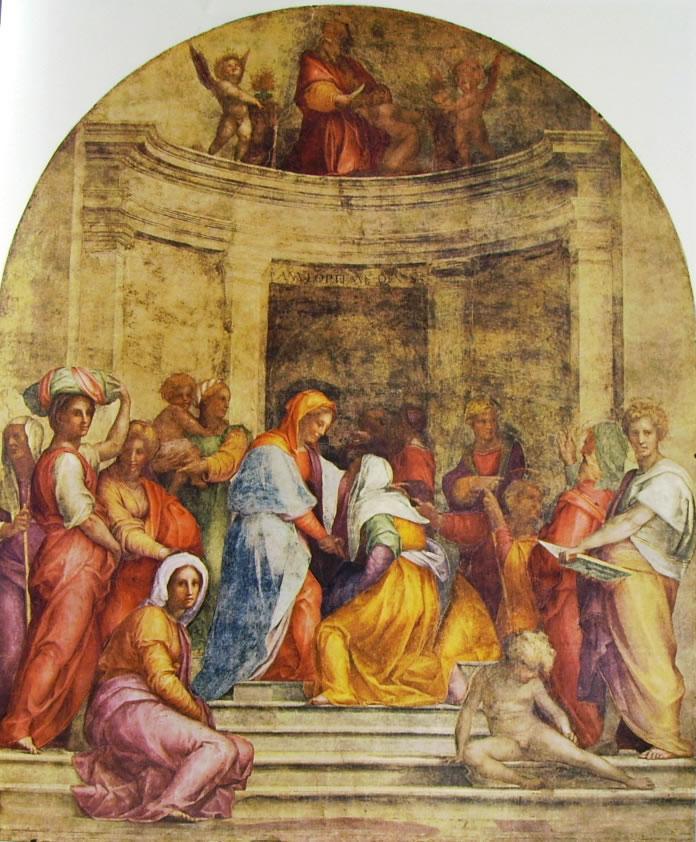 Visitazione (Firenze) di Pontormo