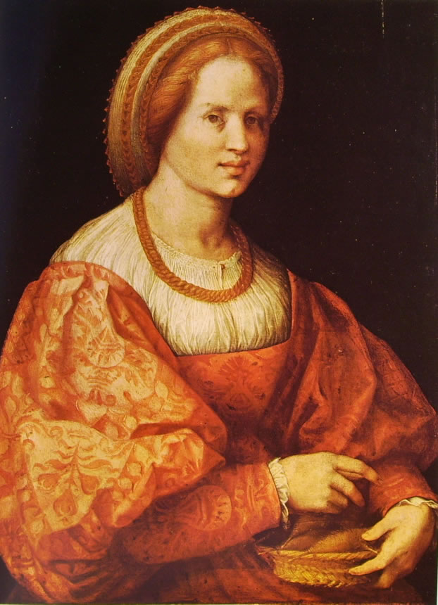 Pontormo:Dama con cestello