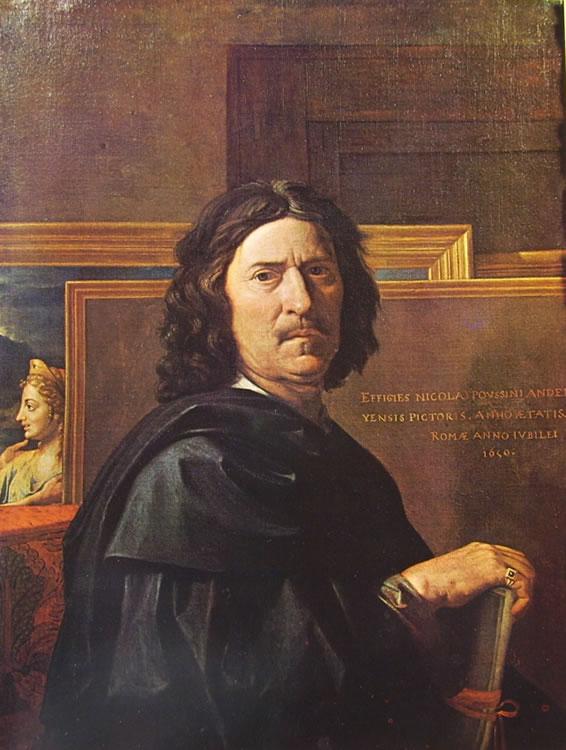 Nicolas Poussin: Autoritratto (Museo del Louvre)