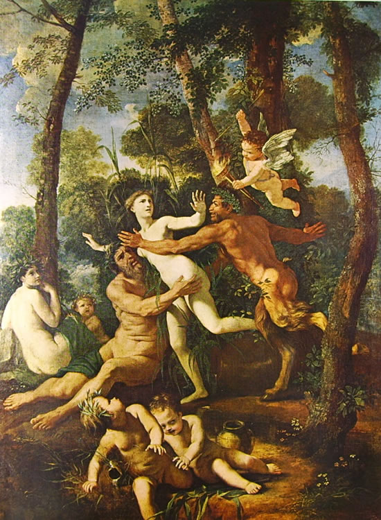 Nicolas Poussin: Pan e Siringa