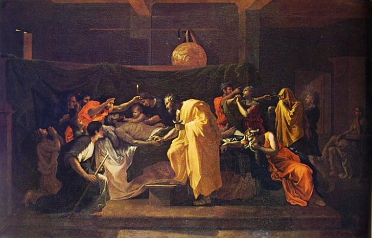 Nicolas Poussin: I Sette sacramenti - Estrema unzione