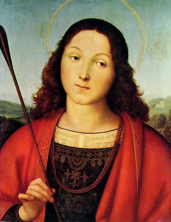 Raffaello Sanzio: S. Sebastiano (Accademia Carrara)