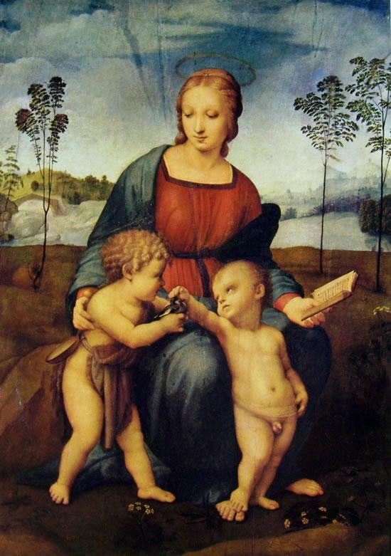 Raffaello Sanzio: Madonna del cardellino