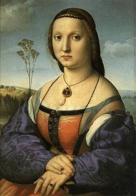 Raffaello: Maddalena Strozzi (Palazzo Pitti)