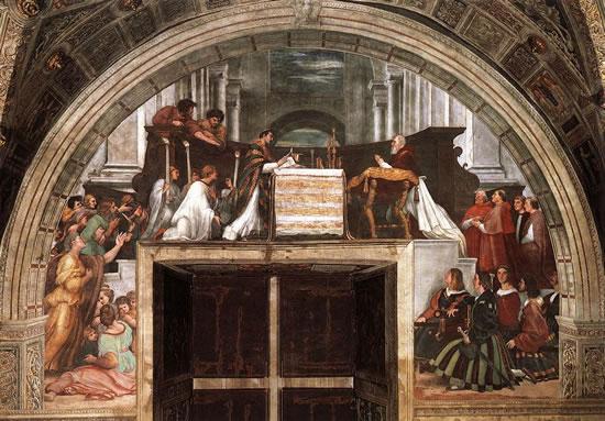 La Messa di Bolsena della stanza di Eliodoro, Vaticano