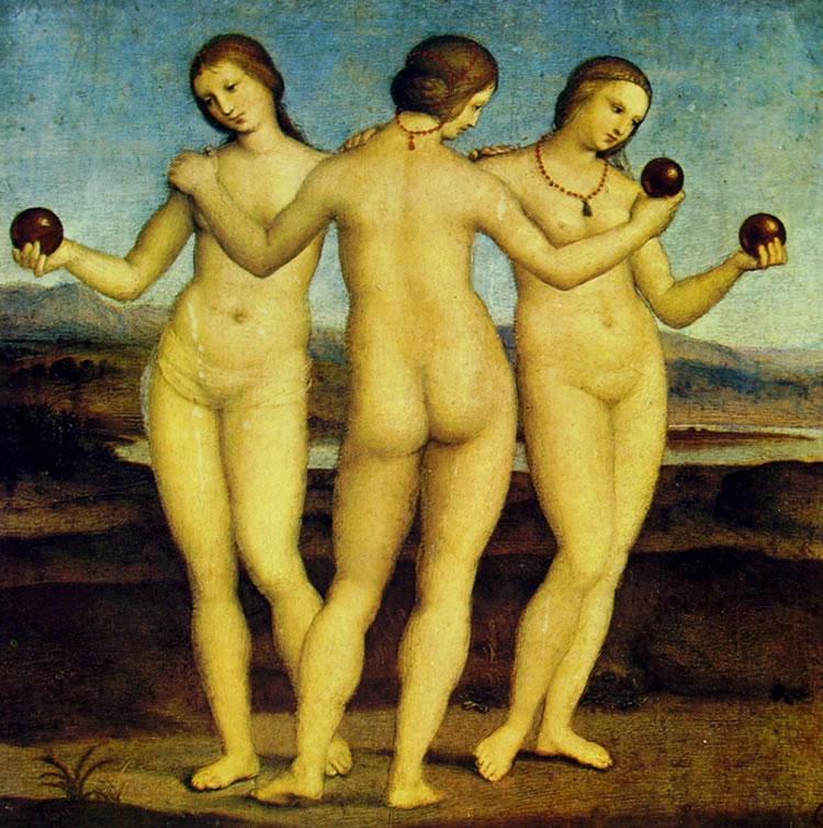 Raffaello Sanzio: Le tre Grazie