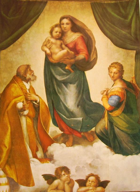 Raffaello Sanzio: Madonna Sistina
