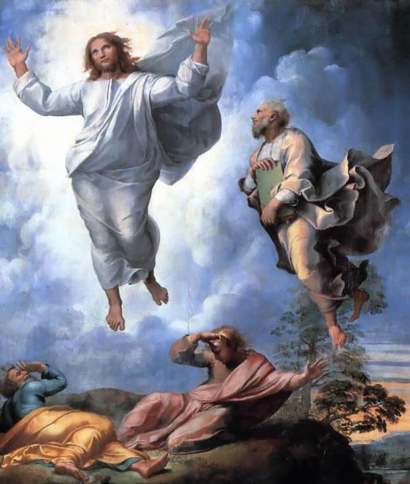 La Trasfigurazione di Raffaello sanzio