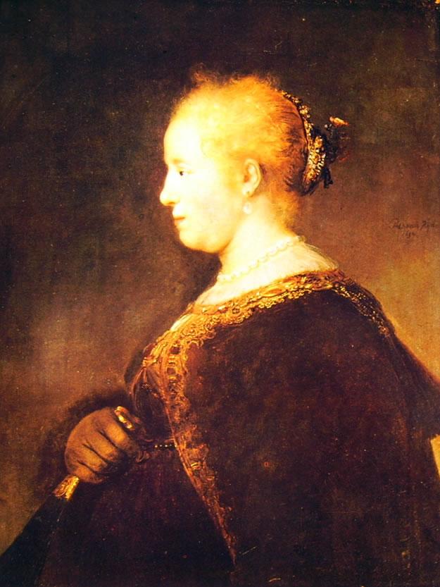 Ritratto di giovane signora con ventaglio