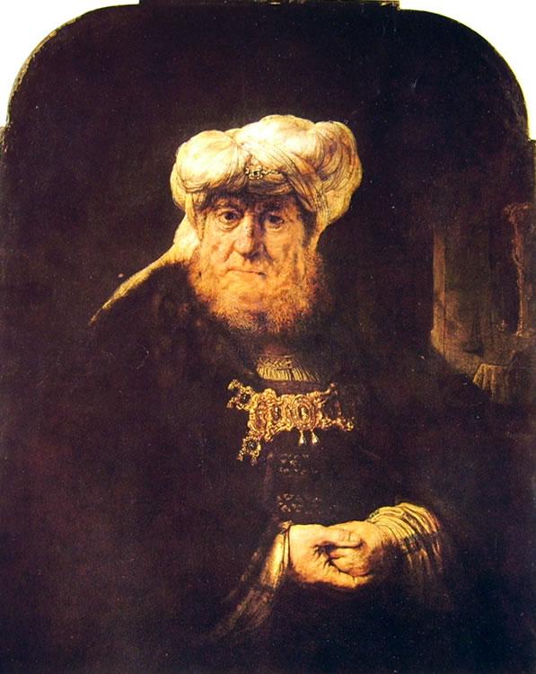 Rembrandt Harmenszoon Van Rijn: Ozia colpito da lebbra