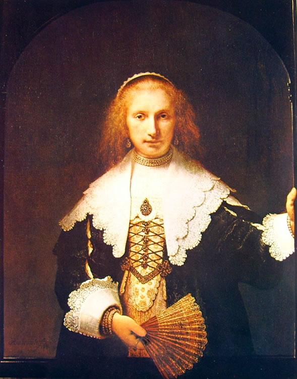 Rembrandt Harmenszoon Van Rijn: Ritratto di Agatha Bas