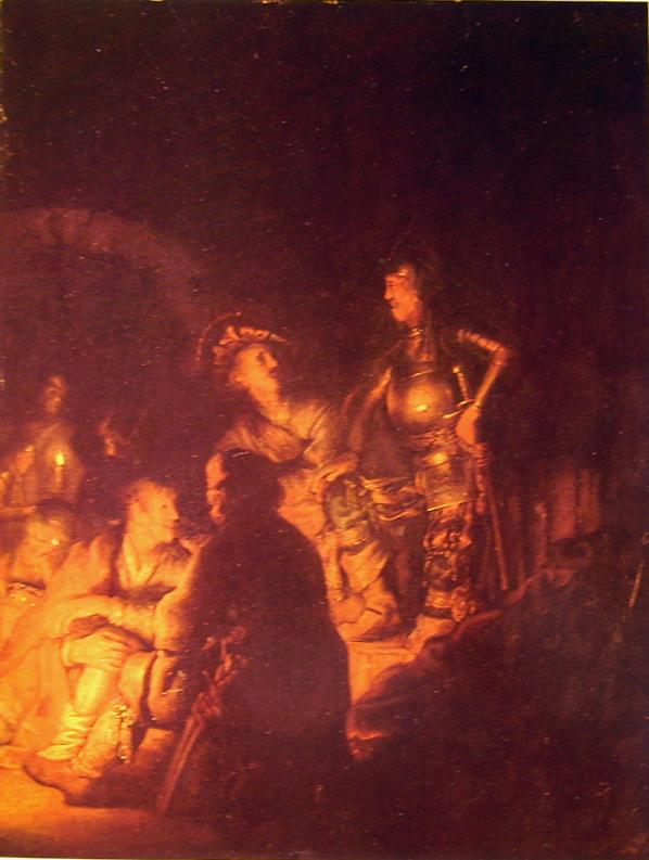 Rembrandt Harmenszoon Van Rijn: La negazione di Pietro (Bridgestone)