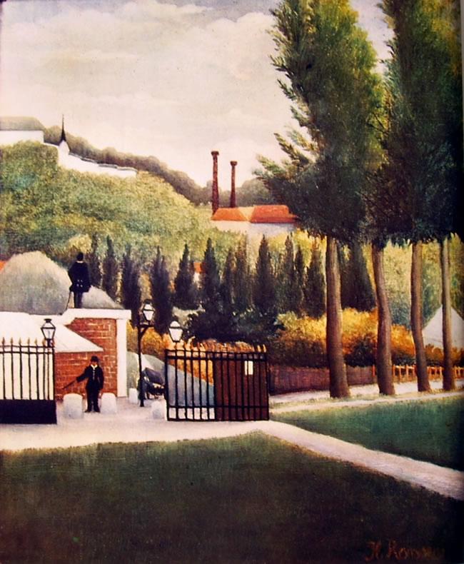 Rousseau il Doganiere: Casello daziario
