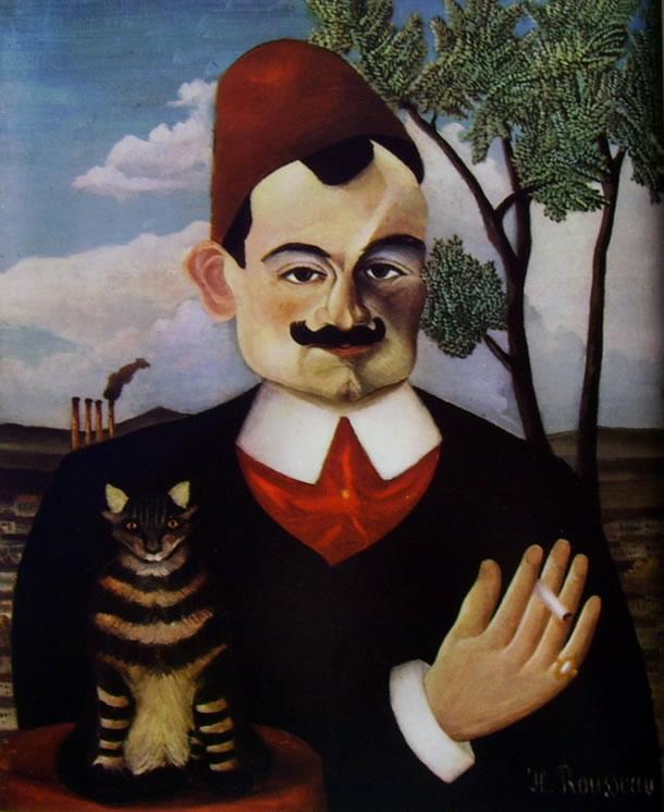 Rousseau il Doganiere: Ritratto di Pierre Loti