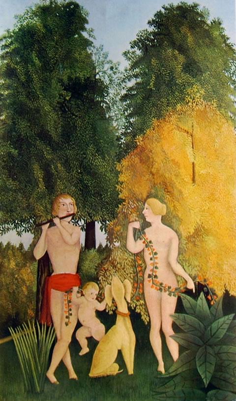 Rousseau il Doganiere: Quartetto felice