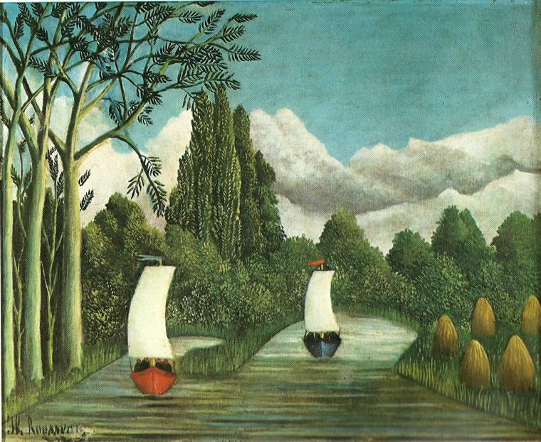 Rousseau il Doganiere: Rive dell'Oise ( Northampton)