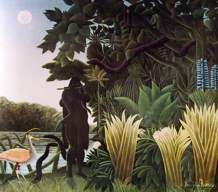 Rousseau il Doganiere: Incantatrice di serpenti