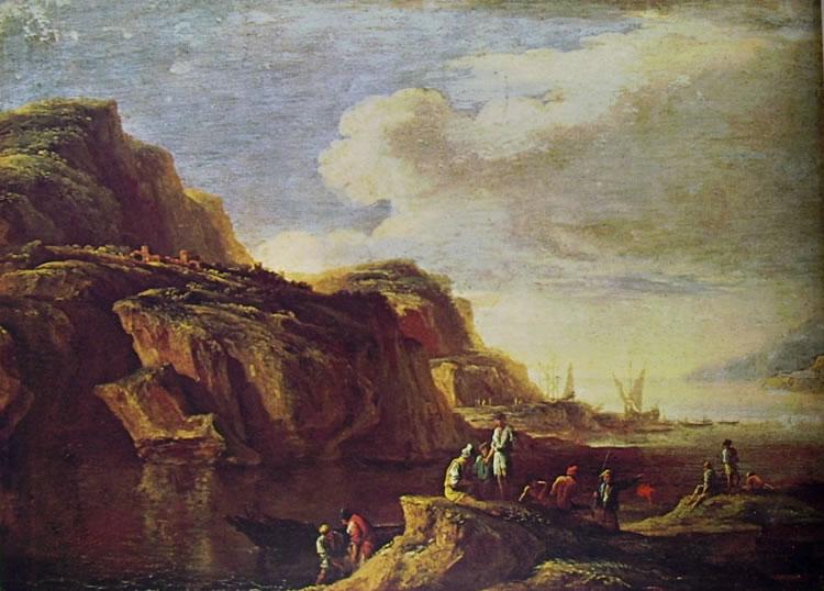 Marina (Museo di San Martino) di Salvator Rosa