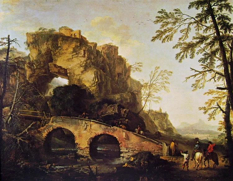 Il ponte (Palazzo Pitti) di Salvator Rosa