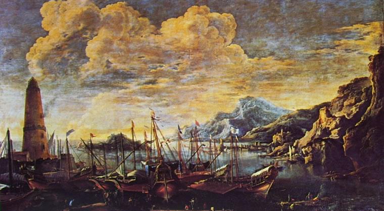 Marina del Faro di Salvator Rosa