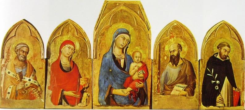 Simone Martini - Polittico di Orvieto