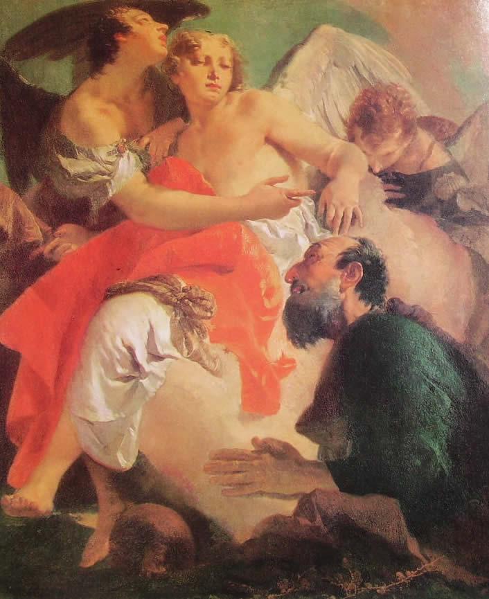 Il Tiepolo: Abramo e gli Angeli (Venezia)