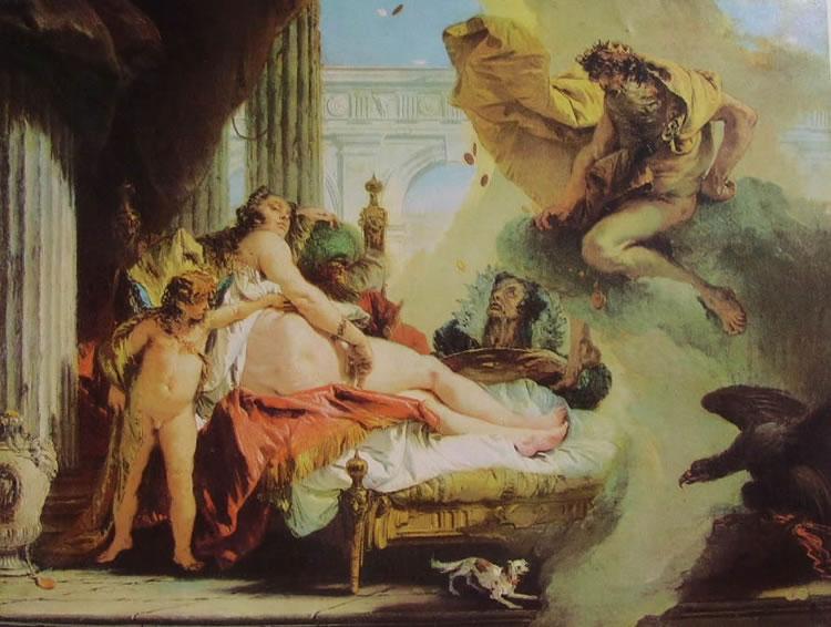 Il Tiepolo: Danae e Giove