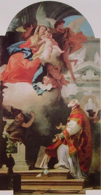 Apparizione della Madonna col Bambino a San Filippo Neri