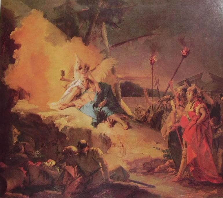 Il Tiepolo: L'agonia nell'orto