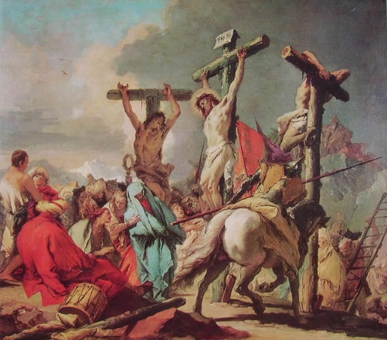 Il Tiepolo: La crocifissione (St. Louis)