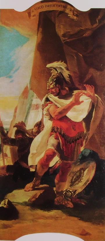 Il Tiepolo: Annibale contempla la testa di Asdrubale