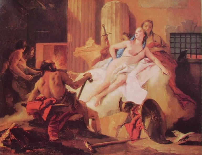 Il Tiepolo: Venere e Vulcano (Filadelfia)