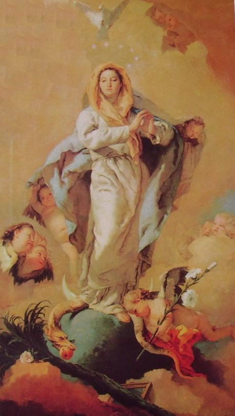 Il Tiepolo: L'Immacolata Concezione (Prado)