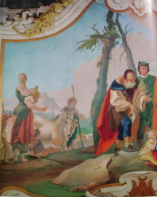 Il Tiepolo: Affreschi dell'arcivescovado di Udine