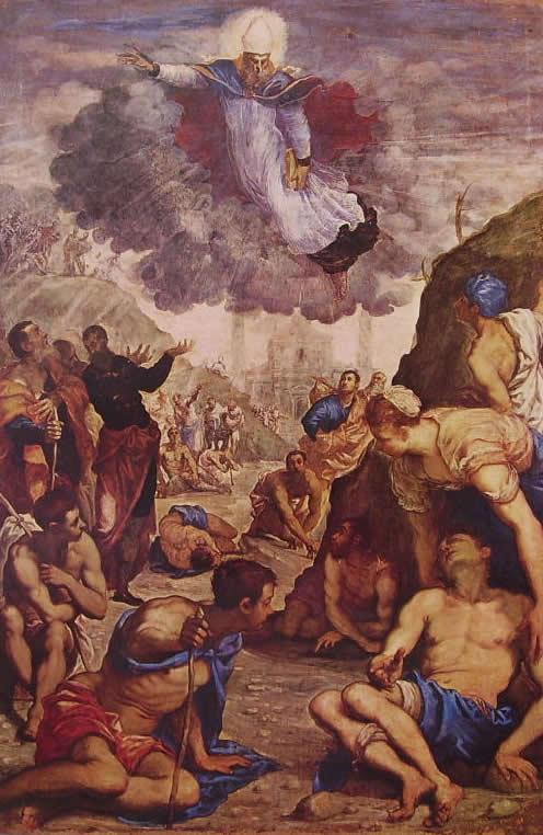 Il Tintoretto: Sant'Agostino risana gli sciancati