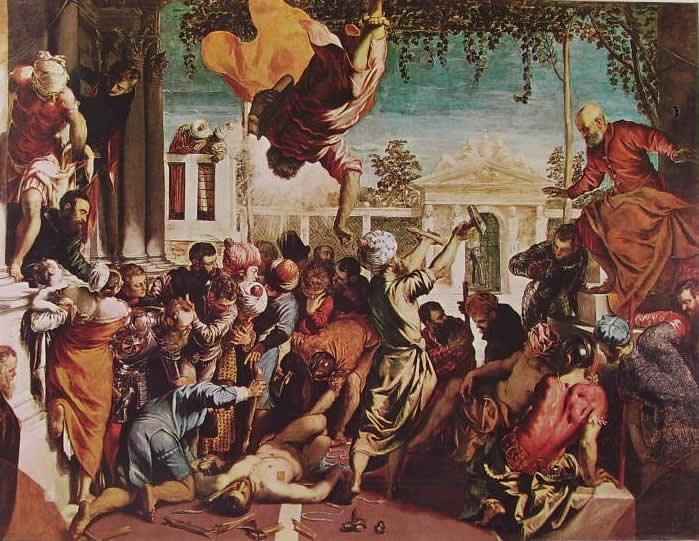 Il Tintoretto: Il miracolo di S. Marco (Accademia di Venezia)