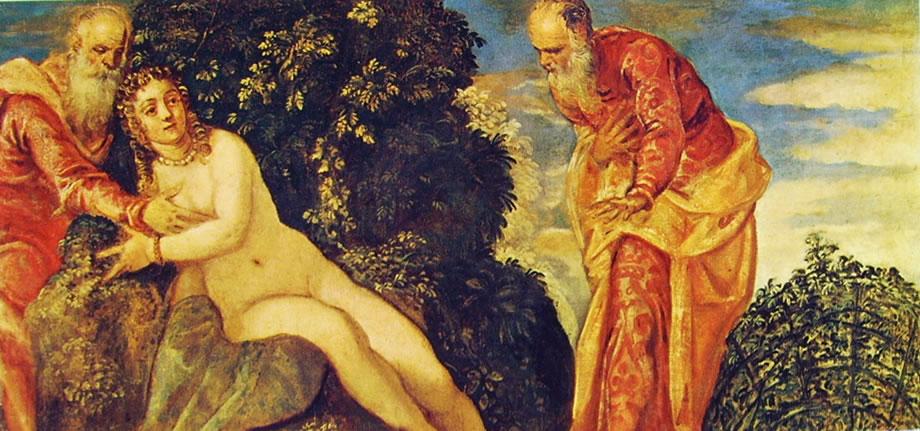 Il Tintoretto: Susanna e i vecchioni del Prado