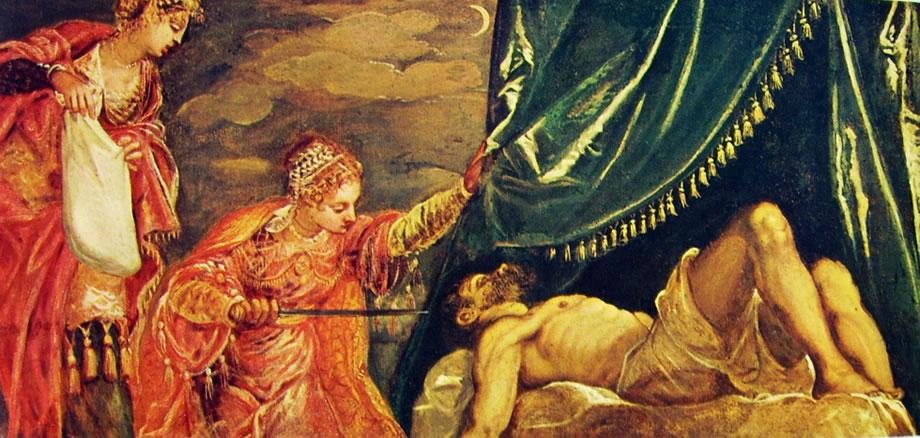 Il Tintoretto: Giuditta e Oloferne (Prado)