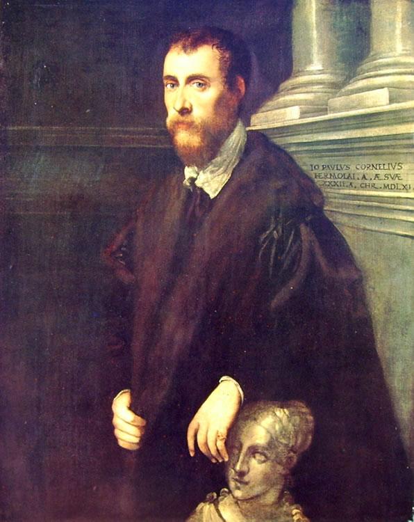 Il Tintoretto: Ritratto di Paolo Cornaro delle Anticaglie