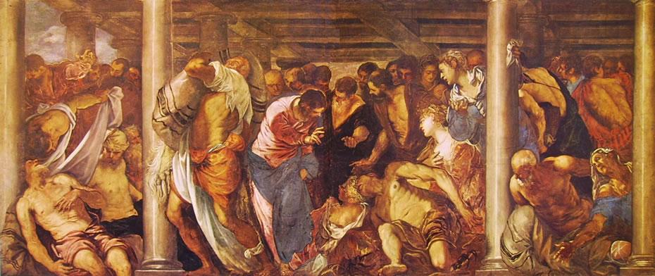 Il Tintoretto: Piscina probatica