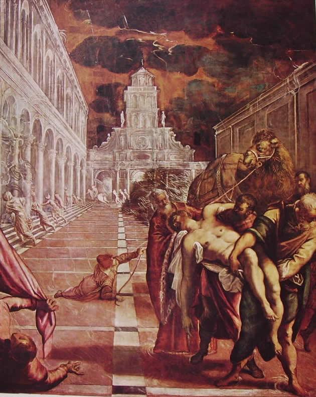Il Tintoretto: Il trafugamento del corpo di San Marco