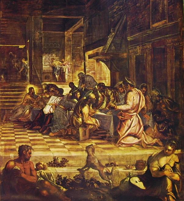 Il Tintoretto: Dipinti per la sala grande di San Rocco