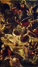 Dipinti per la sala grande di San Rocco, l'Ascensione