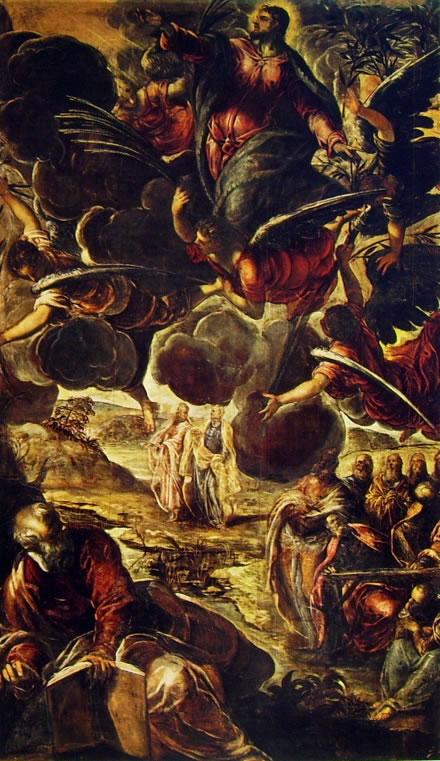 Il Tintoretto: Dipinti per la sala grande di San Rocco - l'Ascensione