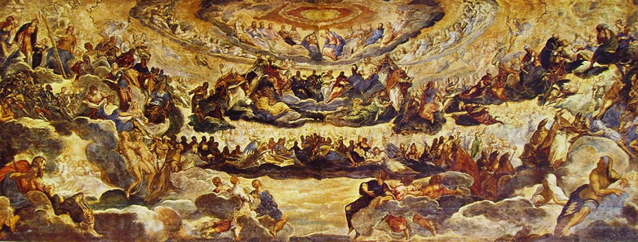 Il Tintoretto: Paradiso, cm. 143 x 362, Louvre Parigi