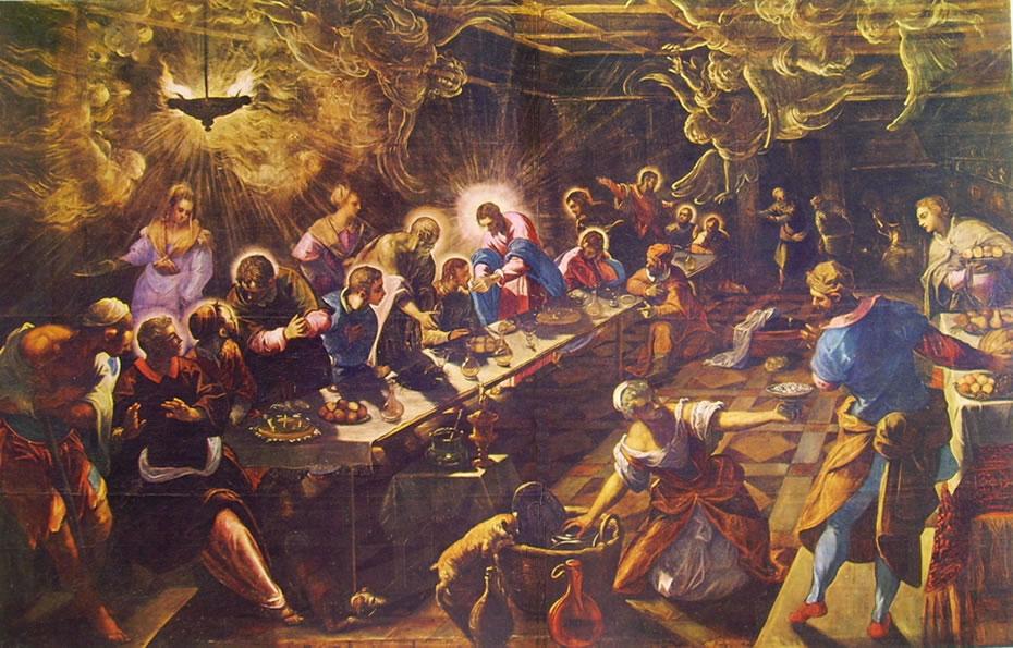 Il Tintoretto: l'ultima cena